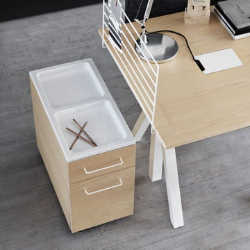 String - Works Drawer Cabinet on wheels