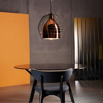 Diesel Living - Cage Pendant Light large, bronze / black