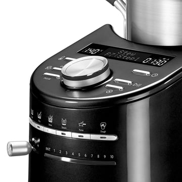 KitchenAid - Buttons of the Artisan CookProcessors, onyx schwarz