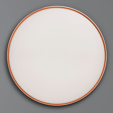 Flos - Clara Wall and Ceiling Lamp LED, white with decoration ring in copper