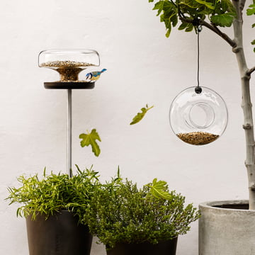 Be closer to nature with the Eva Solo Bird Table and Bird Feeder