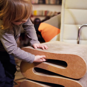 Wiggle Stool by Vitra