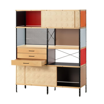 The Eames storage unit 2 OH by Vitra