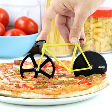 Fixie Pizza Cutter by Doiy