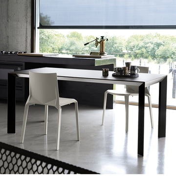 The nori dining table by kristalia for Table extensible kristalia