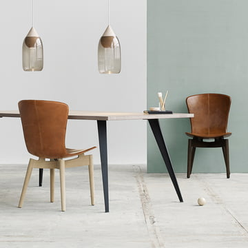 Shell Dining Chair by Mater