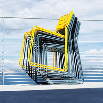 Stackable Chair for Outdoor Use