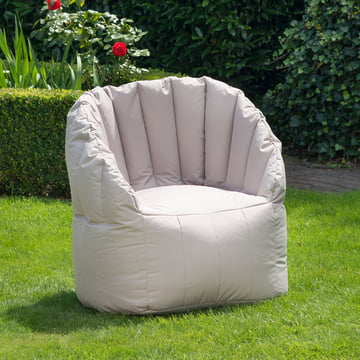 Shell chairs for the garden