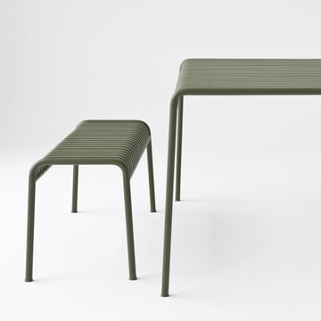 The Palissade Collection - Bench and Table - by Hay