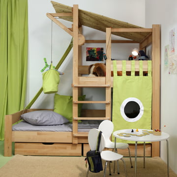 Play Bed with Climbing Tower