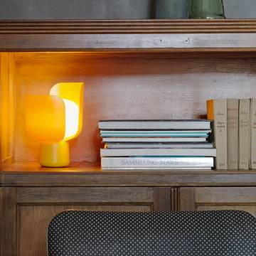 Blom Table Lamp in a Sunny Yellow