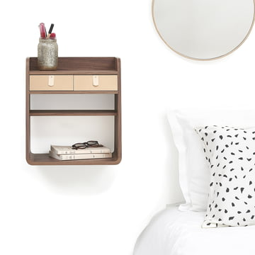 Side Table, Shelf and Wall Shelf - all in one
