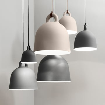 Bell pendant lamp by Normann Copenhagen in different sizes
