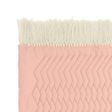Trace Rug by Normann Copenhagen in pink / sand