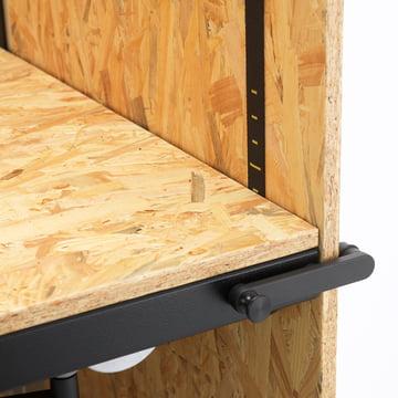 vitra hack schreibtisch schnellverstellung. Black Bedroom Furniture Sets. Home Design Ideas