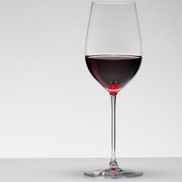 Veritas Riesling / Zinfandel glass by Riedel for red wine