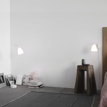 Caravaggio Floor Lamp and Wall Lamp Read