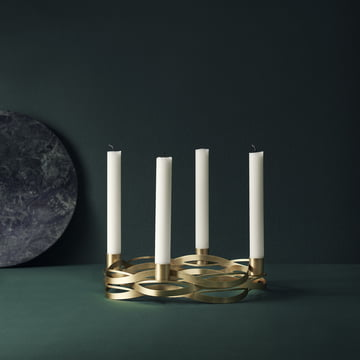 Discover the Advent Tangle candleholder by Stelton