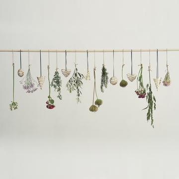 Tangle Christmas ornaments by Stelton