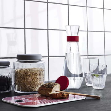 Nanna Ditzel Collection and Water Carafe with Glass