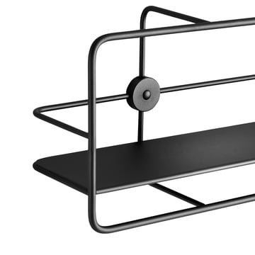 Coupé Horizontal Shelf in black