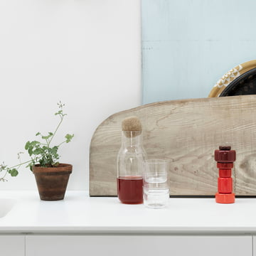 Corky Carafe and Glasses from Muuto