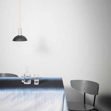 The ferm Living - Hoop Shade in light blue