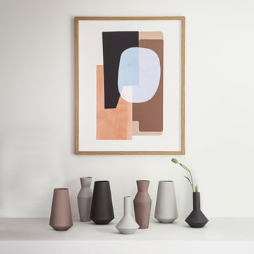Abstraction Posters and Sculpt Vases