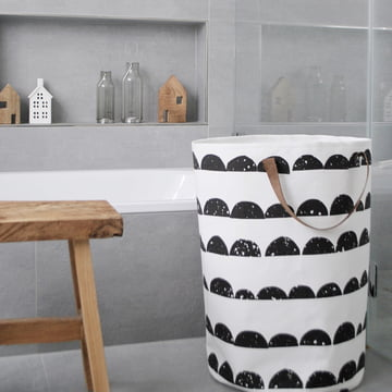 Half Moon Laundry Basket by ferm Living