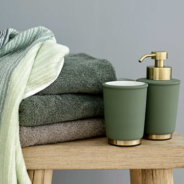 Touch Soap Dispenser and Toothbrush Tumbler by Södahl