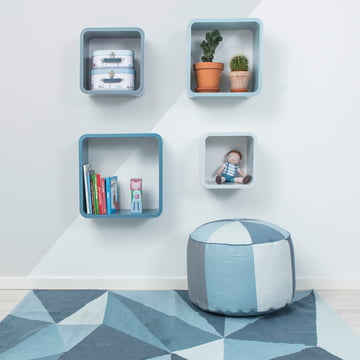 Cube Shelf Square by Sebra