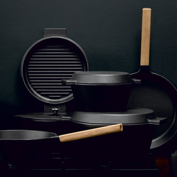 N.A.C. Collection by Morsø with wooden handle