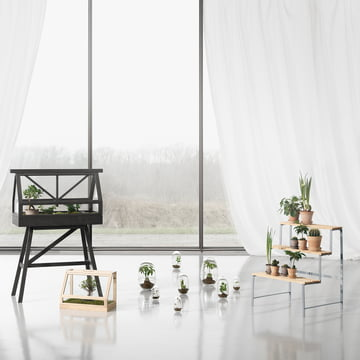 Flower Pot Stand and Greenhouse