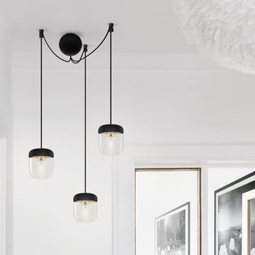 Noble Suspension for three Pendant Lights