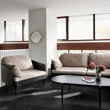 Comfortable sofa by Menu for your home