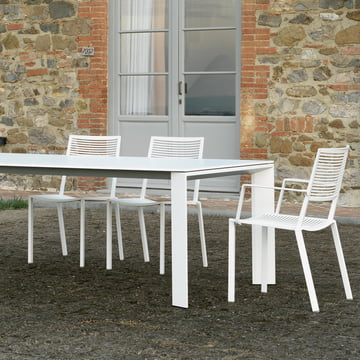 Easy Table and Stackable Forest Chair by Fast