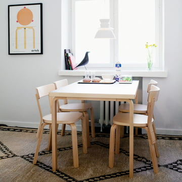 Table 81B by Alvar Aalto for Artek