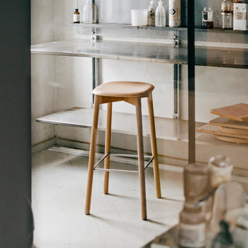 Soft Edge 32 High Stool by Hay
