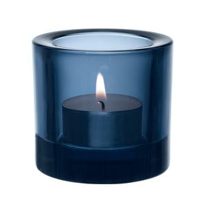 Kastehelmi Teelichthalter Regenblau Iittala